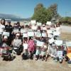 Καθαρισμός Παραλίας Μαυροβουνίου από το ΛΧ Γυθείου