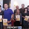 Βράβευση των Σπαρτιατών αθλητών των Διεθνών Παιδικών Αγώνων