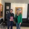 Συνάντηση Αντιπεριφερειάρχη Λακωνίας Αδαμαντίας Τζανετέα με Δήμαρχο Αθηναίων Γιώργο Καμίνη