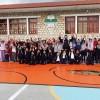 Ο Παλαιστικός Σπάρτης στο Δημοτικό Σχολείο Αμυκλών.