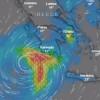 """Δείτε ζωντανά την πορεία του Κυκλώνα """"Ζορμπάς"""" – Που θα χτυπήσει τις επόμενες ώρες. –  ΒΙΝΤΕΟ"""