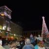 Το άναμμα το Χριστουγεννιάτικου Δέντρου στο Γύθειο.