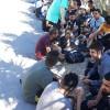 Διάσωση μεταναστών στη Βάθεια Μάνης.