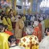 Πλήθος πιστών στον εορτασμό της Αγίας Βαρβάρας στην Καλογωνιά