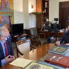 Συνάντηση Ανδριανού με Πέτσα για θέματα αρμοδιότητας του Υπουργείου Εσωτερικών που αφορούν την Αργολίδα.