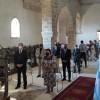 Παρουσία Μενδώνη τα Θυρανοίξια του Ιερού Ναού Αγ.Νικολάου στην Κάτω πόλη της Μονεμβασιάς.