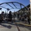 Υπαίθριο τηλεοπτικό στούντιο η πλατεία του Δημαρχείου στο Γύθειο