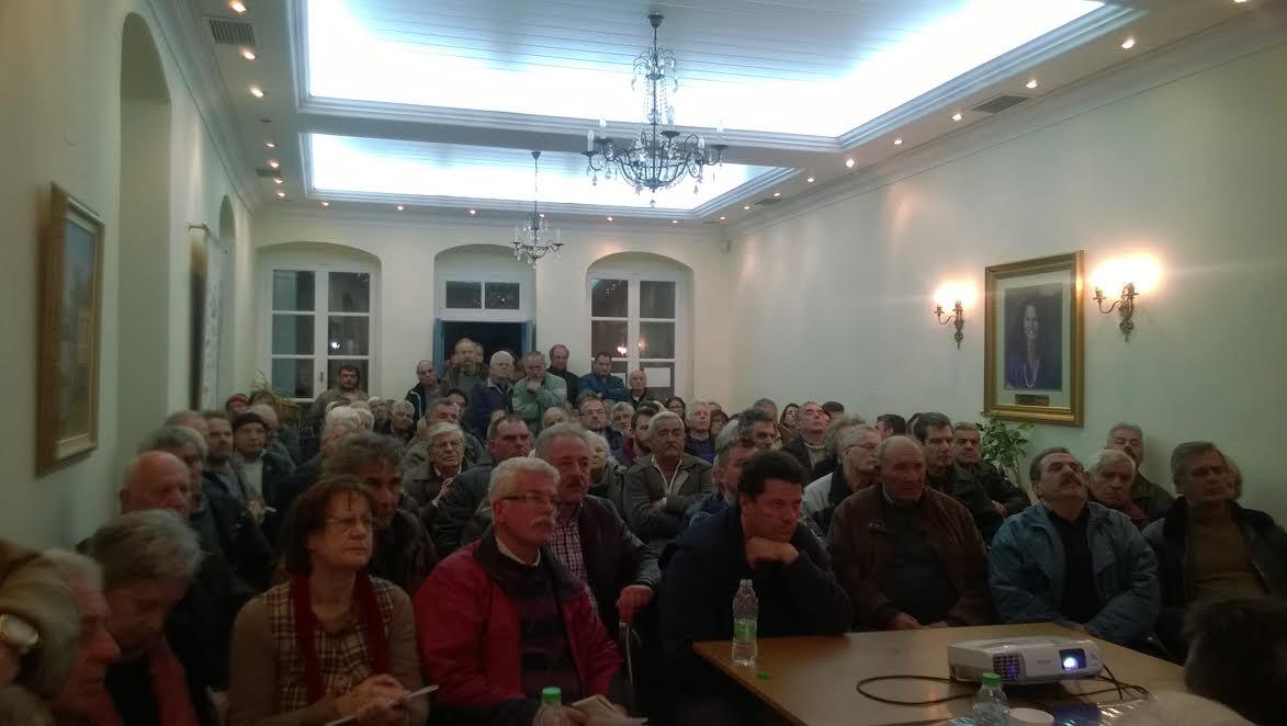 Ψήφισμα συγκέντρωσης για τους Δασικούς Χάρτες στο Καστόρι Λακωνίας.