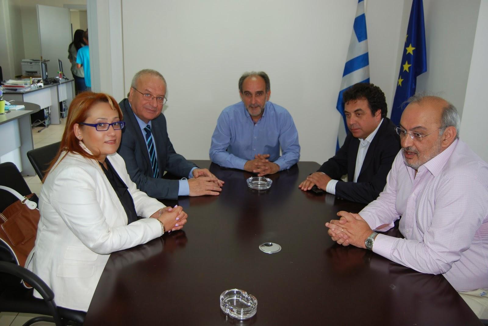 Επίσκεψη του Υπουργού Αναπληρωτή Υγείας, Λεωνίδα Γρηγοράκου στην 6η Υ.Πε