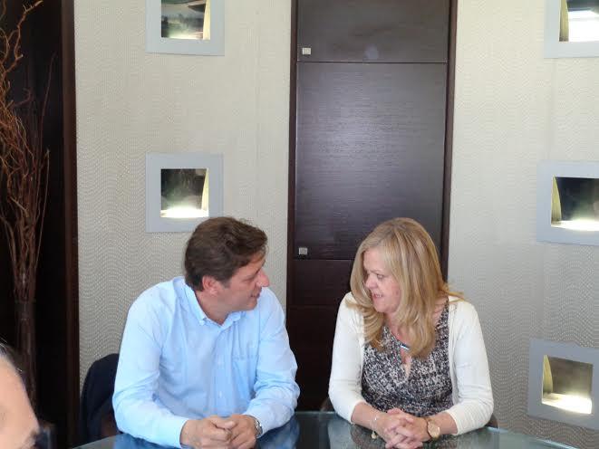 Συνάντηση Τζανετέα Βαρβιτσιώτη στο Διοικητήριο Λακωνίας