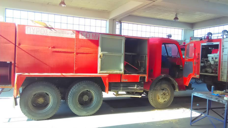 Ενισχύθηκε με πυροσβεστικό όχημα η Ομάδα Διάσωσης Λακωνίας