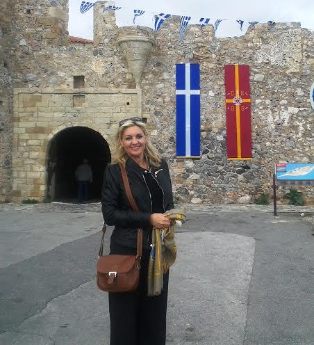 Η Νατάσα Ράγιου στην Σπάρτη
