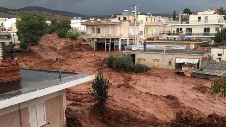 Η Αγωνιστική Κίνηση Πυροσβεστών για τις συνέπειες των καταστροφικών πλημμυρών