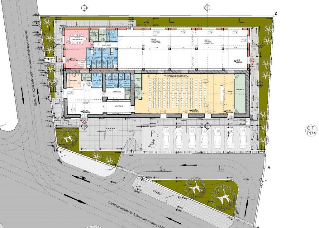 1.650.000 εκατ.ευρώ για το κτήριο της Συκικής Μονεμβάσιας