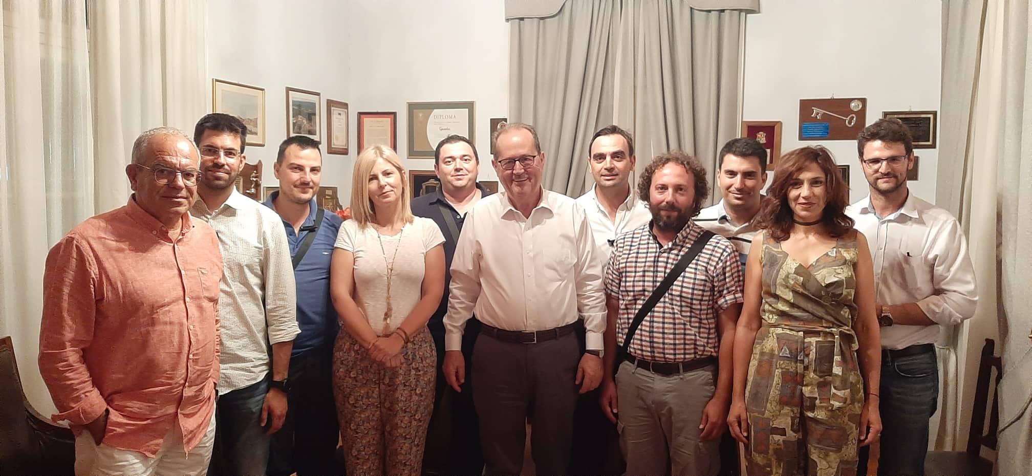 Συναντήσεις Νίκα με φορείς της Λακωνίας στη Σπάρτη