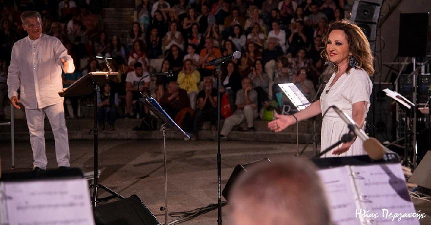 Φωτογραφικές στιγμές από την συναυλία Φιλαρμονικής Σπάρτης – Γλυκερία στο Σαϊνοπούλειο