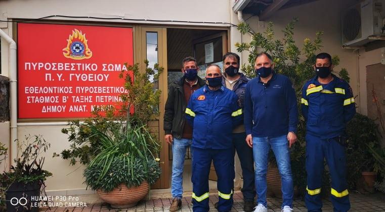 """Νεοκλής Κρητικός: """"Οι εθελοντές Πυροσβέστες, θεσμός ζωτικής σημασίας"""""""