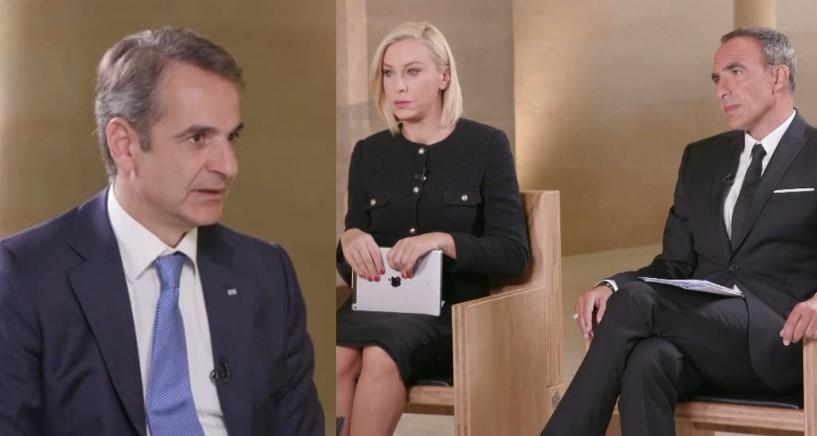 Συνέντευξη του Πρωθυπουργού Κυριάκου Μητσοτάκη, από το Μουσείο του Λούβρου