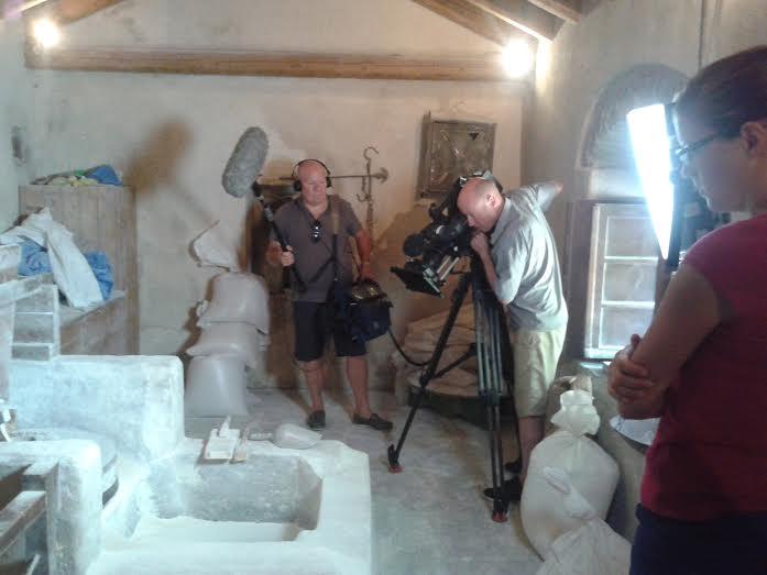 Η εκπομπή του Rick Stein για το BBC στο Δήμο Μονεμβασίας